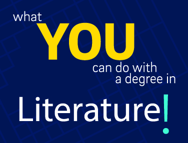 What you can do with degree in Literature