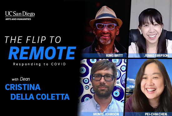 The Flip to Remote with Dean Della Coletta, King Britt, Pei-Chia Chen, Junko Simpson and Monte Johnson